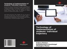 Buchcover von Technology of implementation of students' individual trajectory