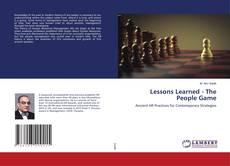 Borítókép a  Lessons Learned - The People Game - hoz