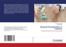 Bookcover of Occlusal Consideration In Implants