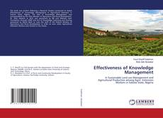 Bookcover of Effectiveness of Knowledge Management