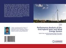 Capa do livro de Performance Analysis of On-Grid Hybrid Solar and Wind Energy System