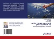 Обложка Environmental science and pollution control (II)