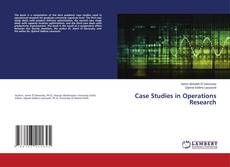 Обложка Case Studies in Operations Research