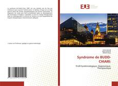 Обложка Syndrome de BUDD-CHIARI:
