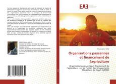 Organisations paysannes et financement de l'agriculture kitap kapağı