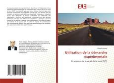 Bookcover of Utilisation de la démarche expérimentale