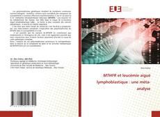 Bookcover of MTHFR et leucémie aiguë lymphoblastique : une méta-analyse