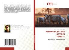 Bookcover of HELMINTHOSES DES BOVIDÉS TOME 1 :