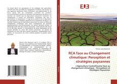 Portada del libro de RCA face au Changement climatique: Perception et stratégies paysannes