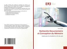 Copertina di Recherche Documentaire et Conception du Mémoire