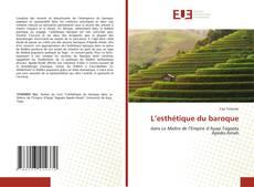 Bookcover of L'esthétique du baroque