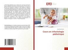 Buchcover von Cours en infectiologie pédiatrique