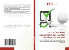 Bookcover of SEO LA CHECKLIST indispensable pour auditer soi-même son site web
