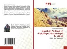 Migration Politique en République Démocratique du Congo kitap kapağı