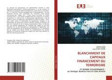 BLANCHIMENT DE CAPITAUX FINANCEMENT DU TERRORISME的封面