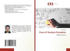 Borítókép a  Cours d' Analyse Complexe - hoz
