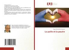 Buchcover von La paille et la poutre