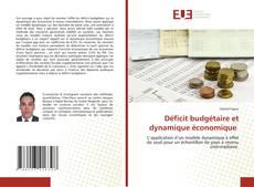Обложка Déficit budgétaire et dynamique économique