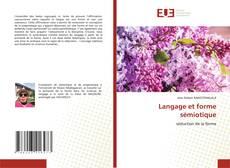 Bookcover of Langage et forme sémiotique