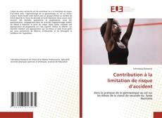 Capa do livro de Contribution à la limitation de risque d'accident