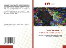 Questionnaire de Communication Sociale:的封面