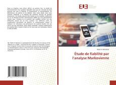 Buchcover von Étude de fiabilité par l'analyse Markovienne
