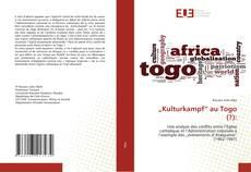 """Bookcover of """"Kulturkampf"""" au Togo (?):"""