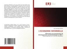 Buchcover von L'ECONOMIE INFORMELLE