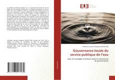 Bookcover of Gouvernance locale du service publique de l'eau