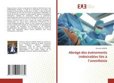 Bookcover of Abrégé des événements indésirables liés à l'anesthésie