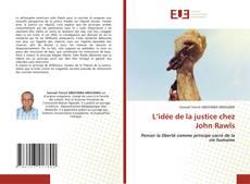 Couverture de L'idée de la justice chez John Rawls