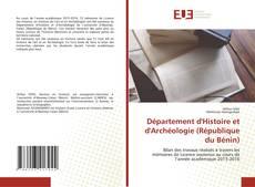 Bookcover of Département d'Histoire et d'Archéologie (République du Bénin)