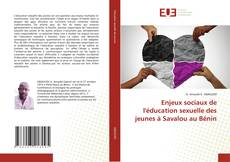 Couverture de Enjeux sociaux de l'éducation sexuelle des jeunes à Savalou au Bénin
