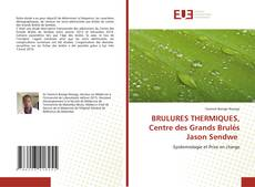 Bookcover of BRULURES THERMIQUES, Centre des Grands Brulés Jason Sendwe