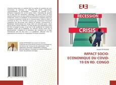Buchcover von IMPACT SOCIO-ECONOMIQUE DU COVID-19 EN RD. CONGO