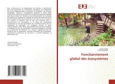 Bookcover of Fonctionnement global des écosystèmes