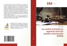 Buchcover von Les conflits d'intérêts au regard du droit des sociétés commerciales OHADA