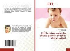 Buchcover von Profil urodynamique des enfants porteurs de reflux vésical urétéral