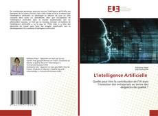 Portada del libro de L'intelligence Artificielle