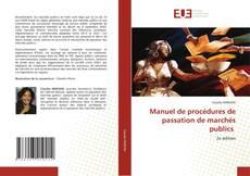Bookcover of Manuel de procédures de passation de marchés publics