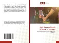 Borítókép a  Relation conjugale violente et emprise - hoz