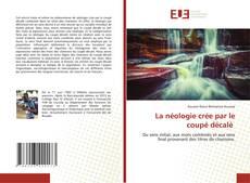 Bookcover of La néologie crée par le coupé décalé