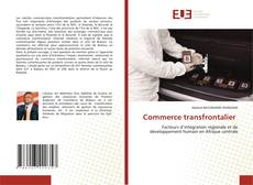 Bookcover of Commerce transfrontalier