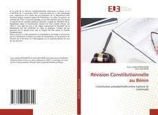 Buchcover von Révision Constitutionnelle au Bénin