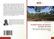 Bookcover of Problématique de gestion durable de Forêt