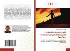 Bookcover of Les balbutiements du système de protection de l'enfant