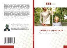 Copertina di ENTREPRISES FAMILIALES