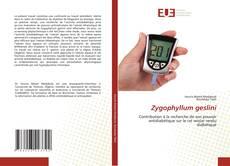 Bookcover of Zygophyllum geslini