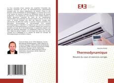Bookcover of Thermodynamique