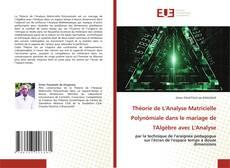 Bookcover of Théorie de L'Analyse Matricielle Polynômiale dans le mariage de l'Algèbre avec L'Analyse